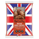 Iceland British Whole Chicken Seasoned with Barbecue Flavour 1.3-1.7kg