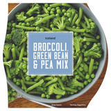 Iceland Broccoli, Green Bean & Pea Mix 300g