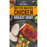 Iceland Butter Basted Chicken Breast Joint 525g