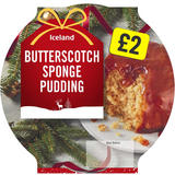 Iceland Butterscotch Sponge Pudding 300g