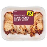 Iceland Cajun Chicken Breast Slices 200g