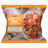 Iceland Cajun Style Prawns with Brown Rice & Quinoa 400g