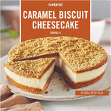Iceland Caramel Biscuit Cheesecake 480g