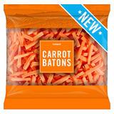 Iceland Carrot Batons 800g