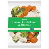 Iceland Carrot, Cauliflower & Broccoli 500g