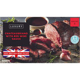 Iceland Chateaubriand with Red Wine Sauce 450g