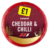 Iceland Cheddar and Chilli 100g
