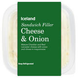 Iceland Cheese & Onion Sandwich Filler 200g