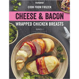 Iceland Cheese and Bacon Wrapped Chicken Breasts 380g