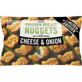 Iceland Cheese and Onion Chicken Breast Nuggets 440g