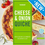 Iceland Cheese and Onion Quiche 400g