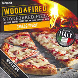 Iceland Cheese Feast Stonebaked Pizza 298g