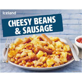 Iceland Cheesy Beans & Sausage 500g