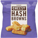 Iceland Cheesy Hash Browns 600g