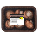 Iceland Chestnut Mushrooms 250g