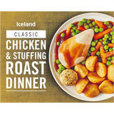 Iceland Chicken & Stuffing Roast Dinner 450g