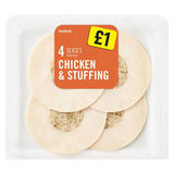 Iceland Chicken and Stuffing 70g