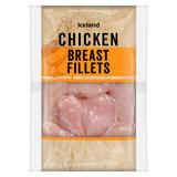 Iceland Chicken Breast Fillets 600g