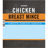 Iceland Chicken Breast Mince 500g