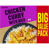 Iceland Chicken Curry with Rice 500g
