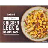 Iceland Chicken, Leek & Bacon Bake 400g