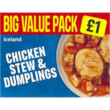 Iceland Chicken Stew & Dumplings 500g