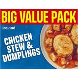 Iceland Chicken Stew and Dumplings 500g