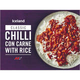 Iceland Chilli Con Carne with Rice 400g