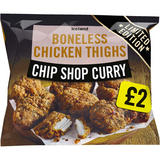 Iceland Chip Shop Curry Boneless Chicken Thighs 600g