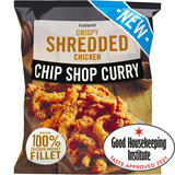 Iceland Chip Shop Curry Crispy Shredded Chicken 450g