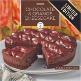 Iceland Chocolate & Orange Cheesecake 450g