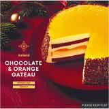 Iceland Chocolate & Orange Gateau 590g