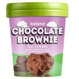 Iceland Chocolate Brownie Ice Cream 480ml