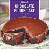 Iceland Chocolate Fudge Cake 450g
