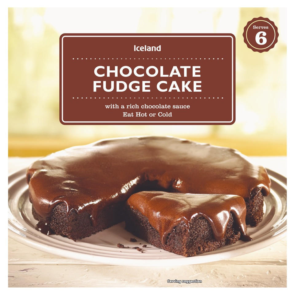 Iceland Chocolate Fudge Cake Serves 6 450g Hot Puddings Iceland Foods