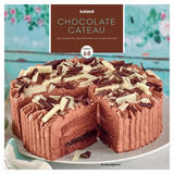 Iceland Chocolate Gateau Serves 6-8 600g