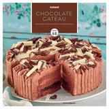 Iceland Chocolate Gateau Serves 6-8 600g