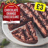 Iceland Chocolate Orange Cheesecake 800g