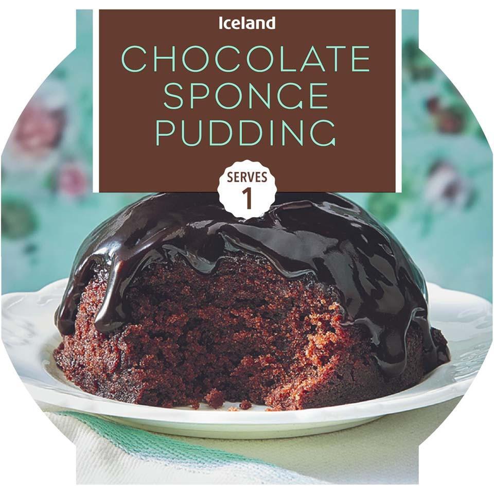 Iceland Chocolate Sponge Pudding 115g Muffins Mini Bites
