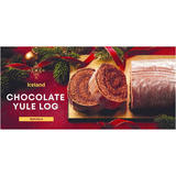 Iceland Chocolate Yule Log 250g