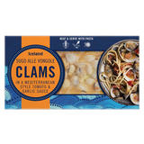 Iceland Clams in a Mediterranean Style Tomato & Garlic Sauce 450g