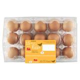 Iceland Class 'A' 15 Mixed Sized Eggs 807g