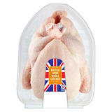 Iceland Class A Fresh British Large Whole Chicken without Giblets 1.95kg