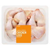 Iceland Class A Fresh Chicken Legs with Skin on 3.5kg