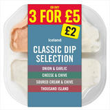 Iceland Classic Dip Selection 400g