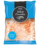 Iceland Cooked Whole Crevettes 200g