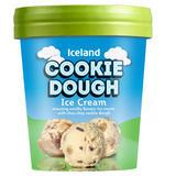 Iceland Cookie Dough Ice Cream 480ml