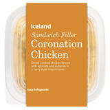 Iceland Coronation Chicken Sandwich Filler 200g