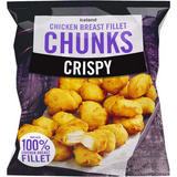 Iceland Crispy Chicken Breast Fillet Chunks 540g