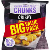 Iceland Crispy Chicken Breast Fillet Chunks 900g